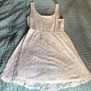 Daytrip white lace dress